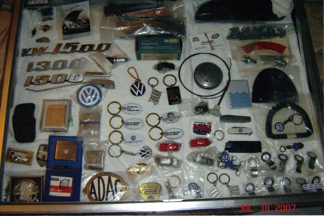 nos vw parts oem collector