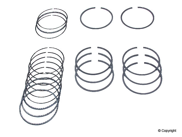 Piston Rings, 88mm - 311198169/88