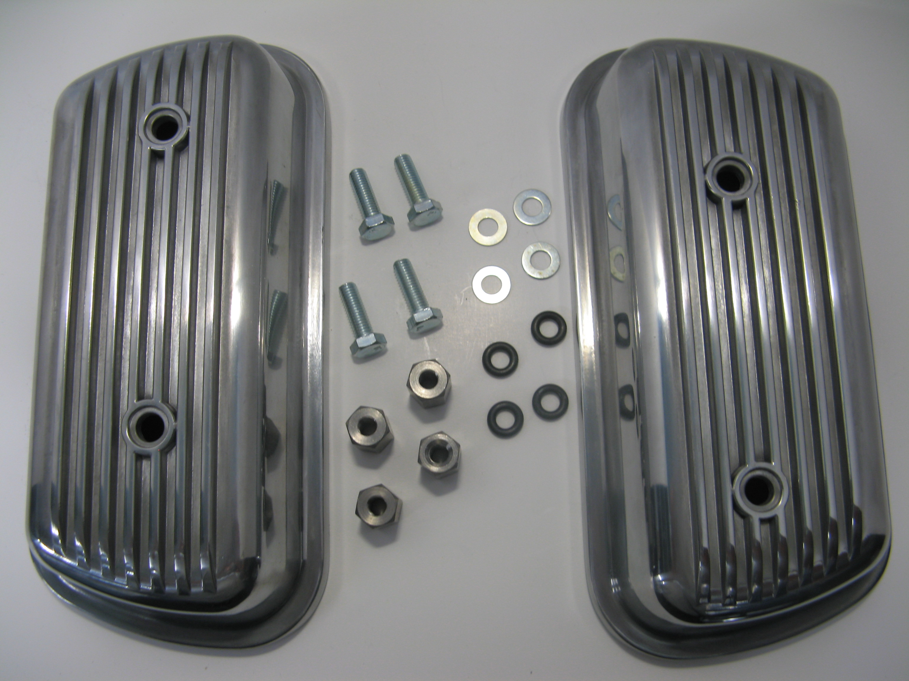 Aluminum Valve Covers Bolt On W Hw 1200cc 1600cc Pair - ACCC105117
