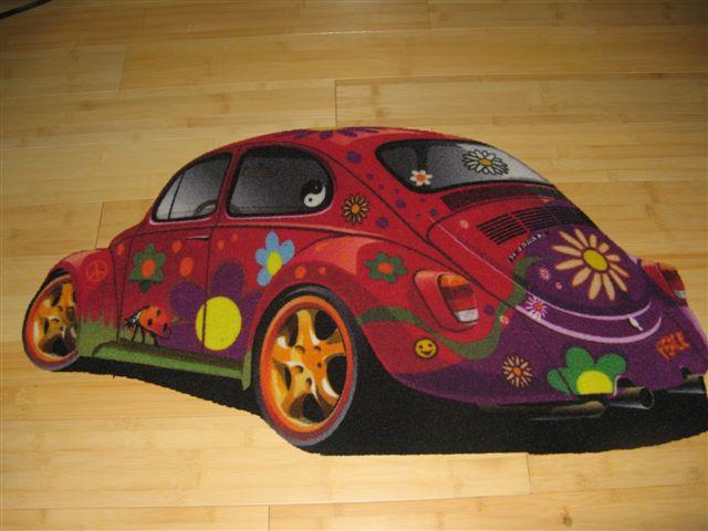 Beetle Floor Mat - beetlemat-r