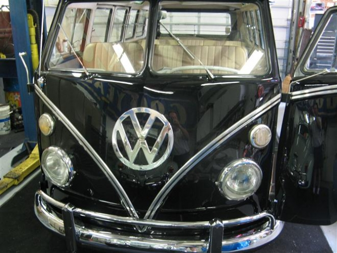 1967 vw bus restoration....