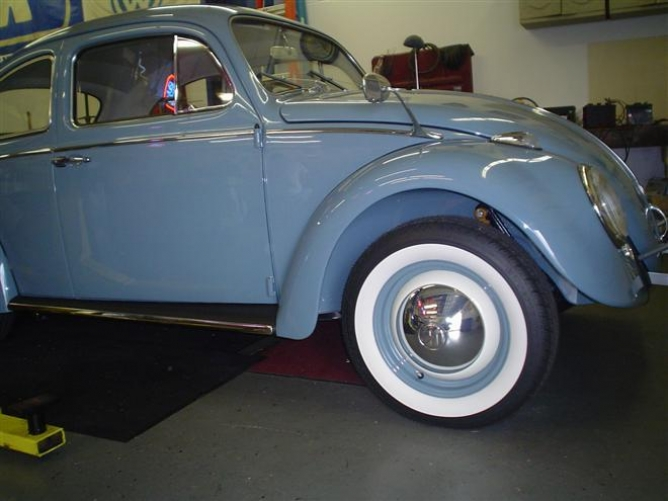 1961 vw beetle restoration
