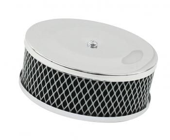 Air Cleaner, Wire Mesh, Chrome - ACCC105590