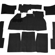 Loop Carpet Kit, Black - 34-F1106-301