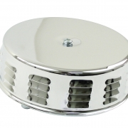 Air Cleaner Louvered Chrome - ACCC105588