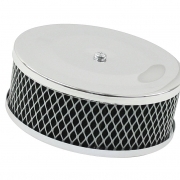 Air Cleaner, Wire Mesh, Chrome - ACCC105590