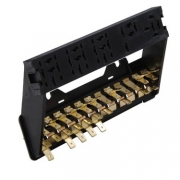 Fuse Box (12 Fuses) With Relay Plate - 111937505M