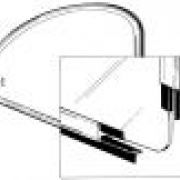 Quarter Window Seals, Pop-Out, Pair - 113847135A