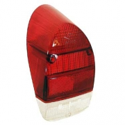 Lens, Taillight Left Red Red Crystal - 113945241A
