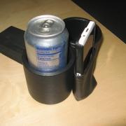 Cup & Phone Holder  Super Beetle 73-79 - VWSB7379PC-BK