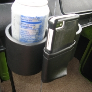 Cup & Phone  Holder Bus 68-78 - VWBUS6878PC-BK