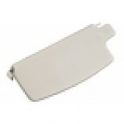 Sunvisor w/Mirror, Off-White  - 21-1033-215