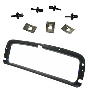 Glove Box, Retainer Ring, Includes 3 Large & 4 Small Clips - 113857111
