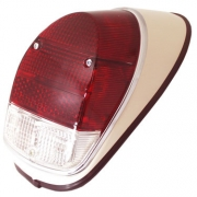 Taillight Assembly Left Red Crystal - 111945095R