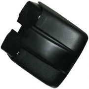 Bumper End Cap, Front L R Black - 133807145