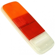 Tail Light Lens, Pair Yellow Red Crystal  - 211945241ADX