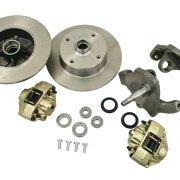 4x130 Front Disc and Dropped Spindle Kit - BA498770