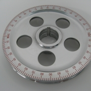 Power Pulley W Red Degrees, Holes, Standard - ACCC105965A