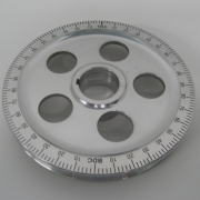Power Pulley w/Black Degrees, Holes, Standard - ACCC105967A