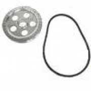 Power Pulley w/Black Degrees, Holes, 200mm Turns 20% Faster w/Belt - ACCC105968